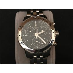 TISSOT PRS 200 STAINLESS STEEL CHRONOGRAPH MENS WATCH