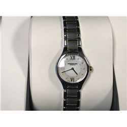 RAYMOND WEIL NOEMIA MINI MOTHER OF PEARL TWO-TONE LADIES WATCH