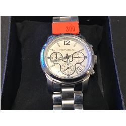 MENS REPUBLIC STAINLESS STEEL WATCH