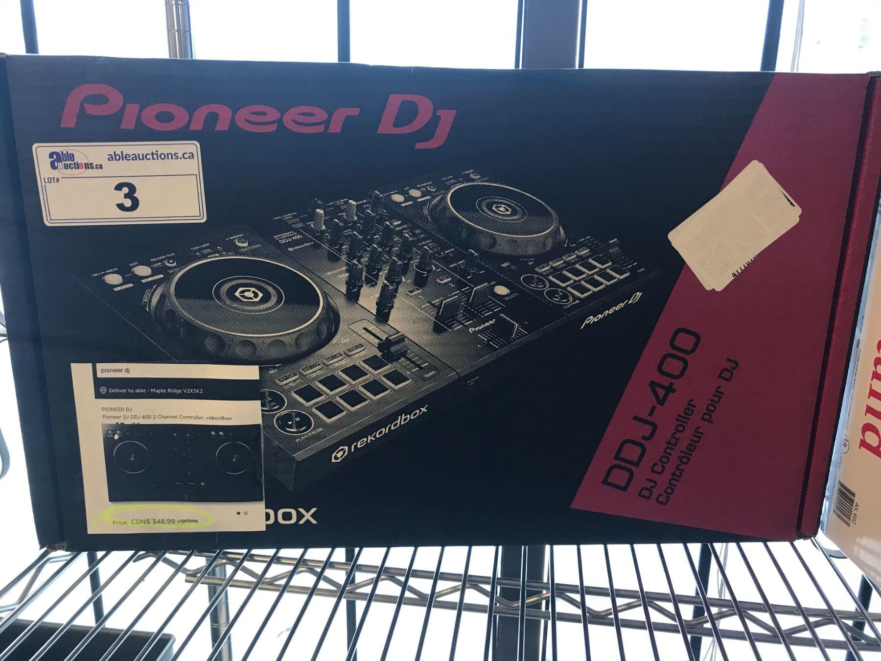 PIONEER DJ 400 CONTROLLER