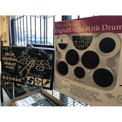 SPECTRUM DIGITAL DRUM WITH STAND & ROCKJAM ELECTRONIC DRUM KIT