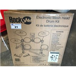 ROCKJAM ELECTRONIC MESH HEAD DRUM KIT