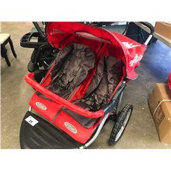 INSTEP SAFARI TT DUAL SEAT  STROLLER
