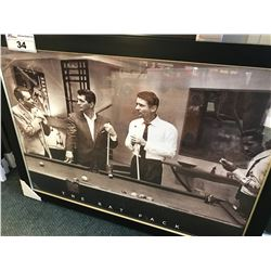 FRAMED PRINT - THE RAT PACK (27 X 37)
