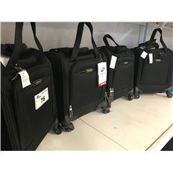 4 AMERICAN TOURISTER CARRY ON CASES