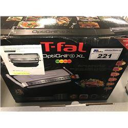 T-FAL OPTIGRILL XL INDOOR/OUTDOOR ELECTRIC GRILL