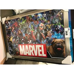FRAMED PRINT - MARVEL (27 X 37)
