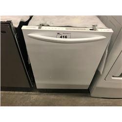NEW WHITE FRIGIDAIRE DISHWASHER MODEL FGID2466QW1A (COSMETIC DAMAGE)