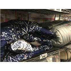 2 COMFORTERS (SIZE UNKNOWN)