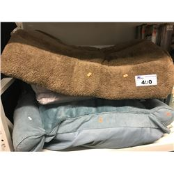 3 ASSORTED PET BEDS