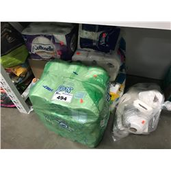 LARGE LOT OF PAPER TOWEL & HAND TOWELS