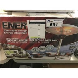 ENER-G FREE STANDING INFRARED HEATER