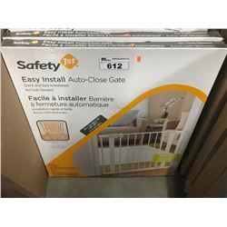 2 SAFETY 1ST EASY INSTALL AUTO-CLOSE GATES