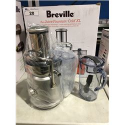 BREVILLE JUICE FOUNTAIN COLD XL JUICER