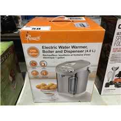 ROSEWILL ELECTRIC WATER WARMER, BOILER & DISPENSER