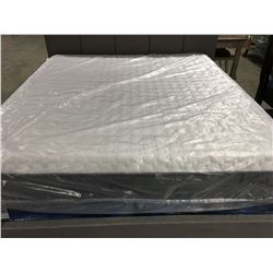 KING SIZED AMERICAN HYBRID MEMORY FOAM MATTRESS & BOX SPRING SET