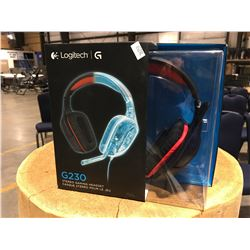 LOGITECH G230 STEREO GAMING HEAD SET