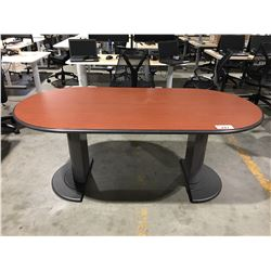 "SMALL BOARDROOM/CONFERENCE TABLE 36""X71"""