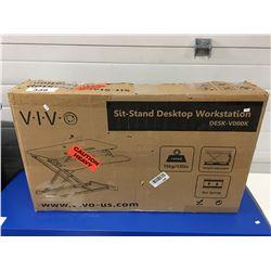 VIVO SIT-STAND DESK TOP WORK STATION DESK