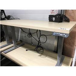 "AOKE POWER LIFT STANDING DESK 29 1/2""X59"" (DETACHED MOTOR MECHANISM)"