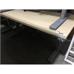 "AOKE POWER LIFT STANDING DESK 29 1/2""X59"" (WILL NOT LIFT)"