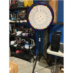 SPIN THE WHEEL PRIZE WHEEL