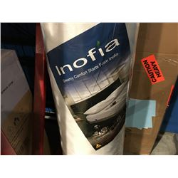 FULL SIZED INOFIA DREAMY COMFORT MEMORY FOAM MATTRESS