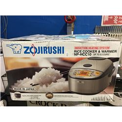 ZOJIRUSHI RICE COOKER & WARMER