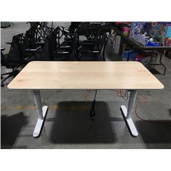"BEKANT POWER LIFT STANDING DESK  63""X 31""X1/2"""