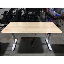 "BEKANT POWER LIFT STANDING DESK 63""X31""X1/2"""