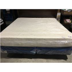 "KING SIZE 12"" MEMORY FOAM MATTRESS & BOX SPRING SET"