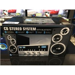 IT CD STEREO SYSTEM WITH BLUETOOTH