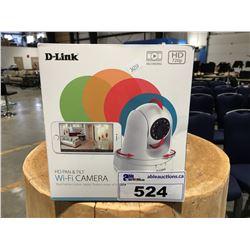 DLINK HD PAN & TILT WIFI SECURITY CAMERA