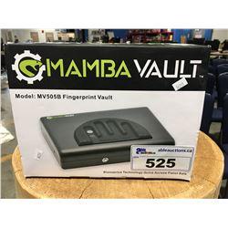 MAMBA VAULT FINGER PRINT VAULT SECURITY BOX