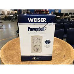 WEISER POWER BOLT 2 TOUCH PAD DEAD BOLT