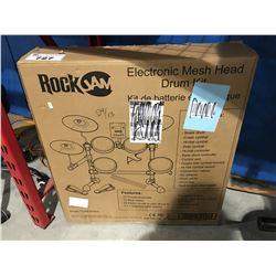 ROCKJAM ELECTRONIC MESH HEAD DRUM KIT (BOXED)