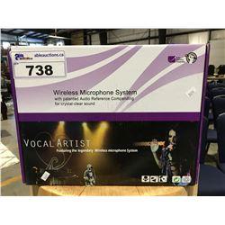 VOCAL ARTIST WIRELESS MICROPHONE SYSTEM