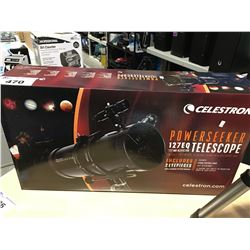 CELESTRON POWER SEEKER 127EQ TELESCOPE