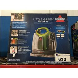 BISSELL LITTLE GREEN PRO HEAT CARPET & UPHOLSTERY CLEANER