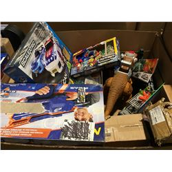 PALLET LOT OF ASSORTED KIDS TOYS