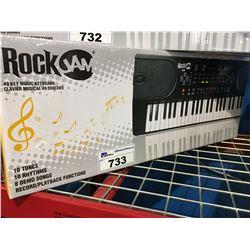 ROCKJAM 49 KEY MUSIC KEYBOARD