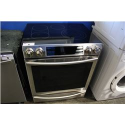 STAINLESS STEEL SAMSUNG ELECTRIC STOVE-TOP OVEN