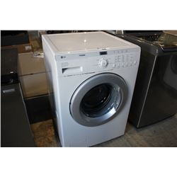 WHITE LG TROMM FRONT LOADING WASHING MACHINE (MODEL WM1812CW)