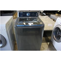 STAINLESS STEEL SAMSUNG TOP-LOADING WASHING MACHINE (MODEL WA5451ANP/XAA)