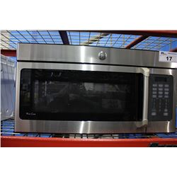 STAINLESS STEEL GE MICROWAVE OVEN