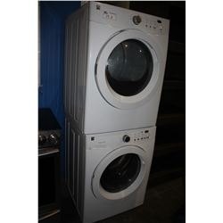 KENMORE STACKER FRONT LOAD WASHER AND DRYER SET