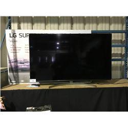 """LG 65"""" SUPER UHD AI THIN Q MODEL 65SK8000PUA 4K SMART TELEVISION WITH REMOTE"""