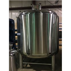 2017 DAEYOO SER # DY20171109 50BBL STAINLESS STEEL HOT WATER TANK