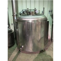 2017 DAEYOO 550 GALLON STAINLESS STEEL SPIRITS STILL WITH AGITATOR MOTOR & PADDLE
