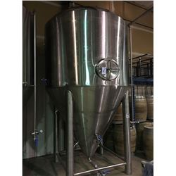 2017 DAEYOO 50BBL 1326 GALLON STAINLESS STEEL DOME / CONE SHAPED FERMENTATION TANK